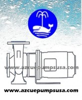 MN - Close coupled centrifugal pump based on DIN 24255
